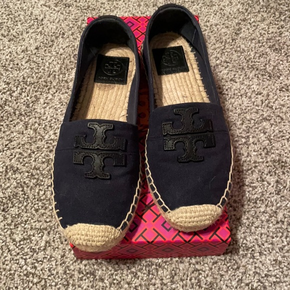 Espadrille flats from Tory Burch. Size 7